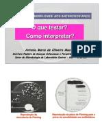 Teste Antimicrobiano