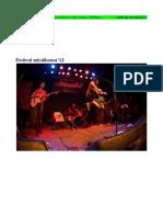 mirallsonor'13   Concerts i actes presentació a Barcelona i Vilafranca del Penedès