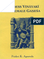 Agrawala Prithvi Kumar Goddess Vinayaki the Female Ganesa 65p