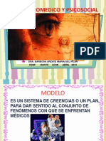 Modelo Biomedico y Psicosocial.