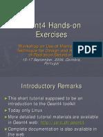 Geant4 Exercises