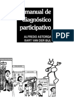 Manual de diagnóstico participativo - Alfredo Astorga y Bart Van. Der Bijt - 1991 - Editorial Humanitas