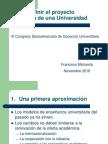 c Mo Definir El Proyecto Educativo de Una Universidad