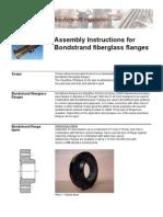 Bondstrand Fiberglass Flanges Assembly Instructions - Ameron