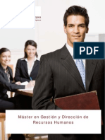 Master en Gestion y Direccion de RR.hh