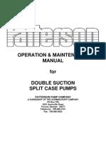 Double Suction Split Case Pumps