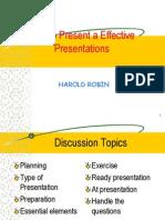 Effective Presentation (fInish !!)