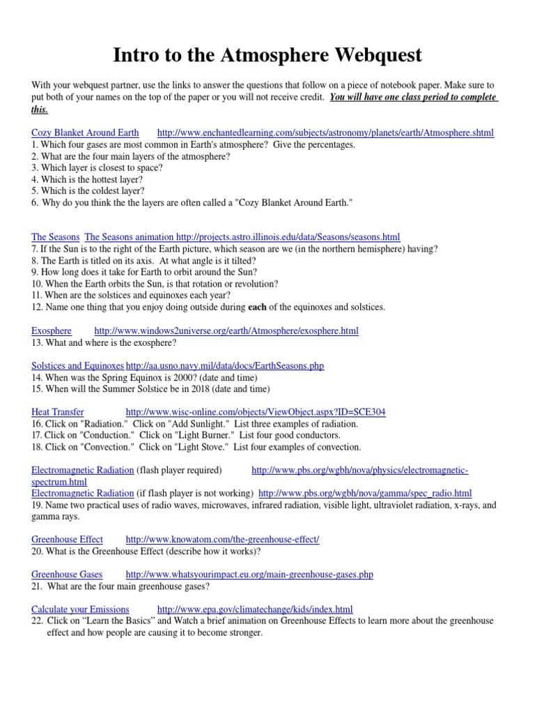 Worksheets Bill Nye Atmosphere Worksheet atidentity Free – Bill Nye Space Exploration Worksheet