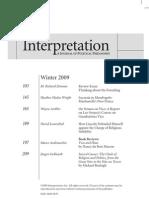 Interpretation, Vol 36-2