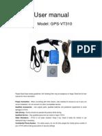 User Manual of VT310