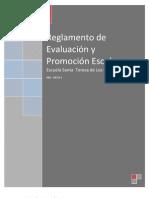 Reglamento de Evaluación y Promoción ETSJ borrador