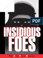 Insidious Foes - The Axis Fifth Column and the American Home Front