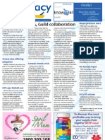 Pharmacy Daily for Mon 08 Apr 2013 - PSA and Guild make up, clinical trial crisis, blood pressure, chemo and much more