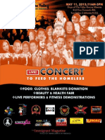 concert to feed brochure