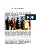 El teatro en Perú