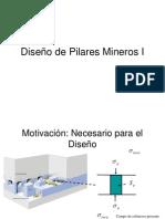 Diseño de Pilares Mineros I