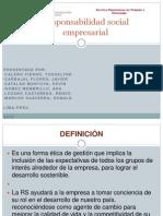 Diapositivas de RSE , TERMINADA
