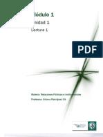 M1 LECTURA 1 - Introducción a las Relaciones Públicas e Institucionales _1_