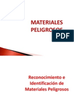 Materiales Peligrosos Husvp2011.Identificacion y Reconocimiento