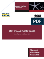 Itil and Iso 20000 March08
