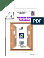 Windows 2000 Profesional - Manual de Usuario