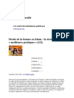 Khalid Chraibi - Droits de La Femme en Islam