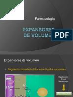 3.- Expansores de Volumen