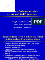 Sedation and Pediatrics