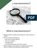 Unit I BE Macroeconomics