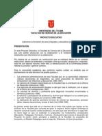 Proyecto Pedagogico Ut