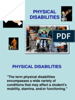 Physical Disabilities.ppt