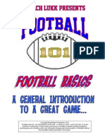 Coach Lukk's Football 101 - Football Basics
