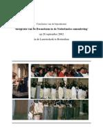 Integratie van de Rwandezen in de Nederlandse samenleving