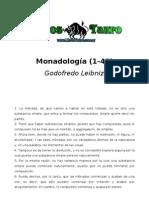 Leibnitz, Godofredo - Monadologia (1 48)