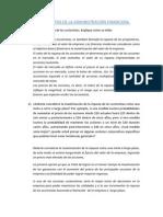 FUNDAMENTOS DE LA ADMINISTRACIÓN FINANCIERA