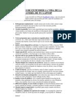 17 FORMAS DE EXTENDER LA VIDA DE LA BATERÍA DE TU LAPTOP