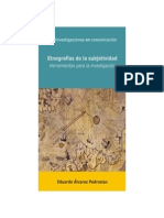 Etnografías de la subjetividad Libro