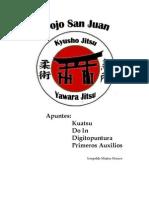 Apuntes Kuatsu Do in Digitopuntura Primeros Auxilios