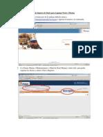 Manual de Ingreso de Stock Para Lagunas Norte y Pierina