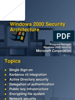 OS 2000 Security Features