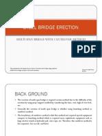 Steel Bridge Cantilever Erection