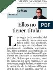 Francesc-Marc Álvaro. Ellos no tienen titular