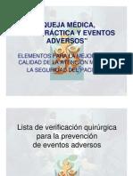 Lista de Verificacion Quirurgica