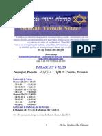 Parashat No 22, 23