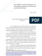 Atividade de Inteligência na PMDF e a importância da integração com os demais órgãos de Segurança Pública do Distrito Federal que atuam na mesma seara