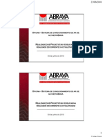Oficina Condicionamento de Ar de Alta Eficiencia 09.06.2010 Apres Carlos Kayano