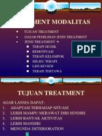 Treatment Modalitas