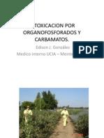 Intoxicacion Por Organofosforados y Carbamatos
