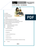Carpeta de Tutoria Secundaria Lu 1