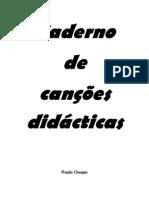 Caderno de canções didácticas 6jan09